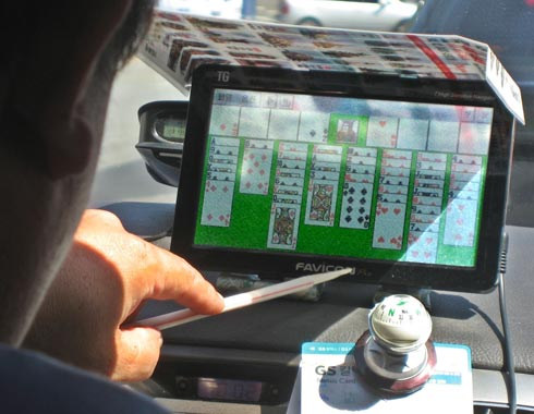 Solitaire-Seoul-taxi-GPS-un
