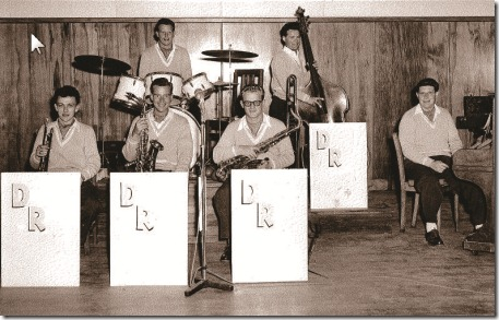 Don Richardson Showband, Caroline Bay Xmas-NY 1955-56