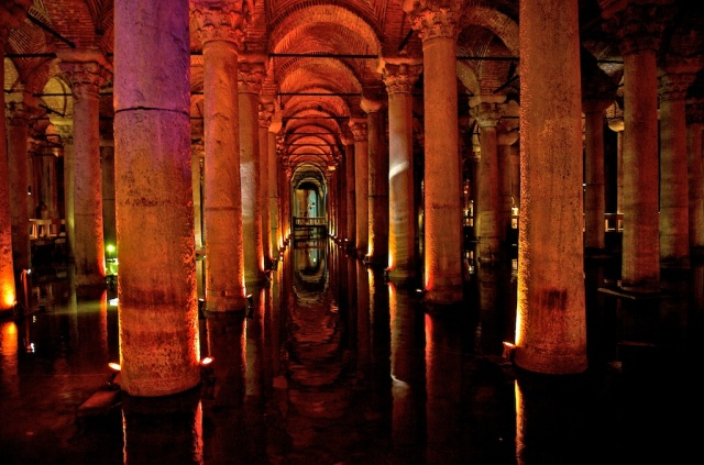 Istanbul-Cisterns