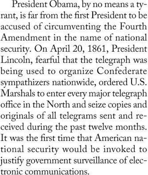 Telegraph spying