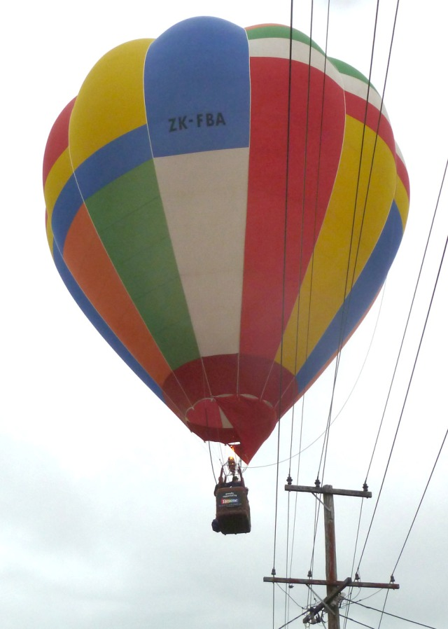 The same balloon passing overhead.