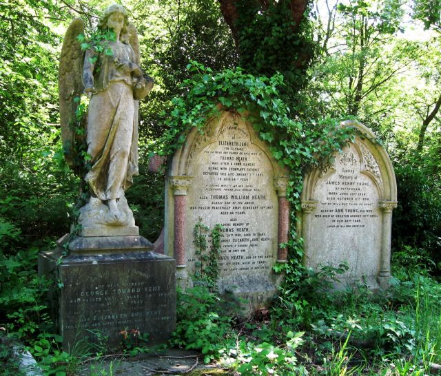 Highgate Cemetery, North London, 2007.